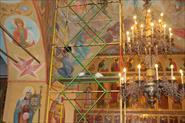 Реставрация росписей храма в с. Знаменское