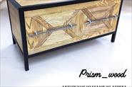 Авторская мебель из дуба и металла