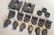 3D печать элементов крепления мольберта.