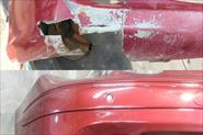 Ремонт бампера Mercedes CLK
