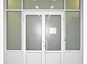 Входные двери и перегородки пластик и алюминий