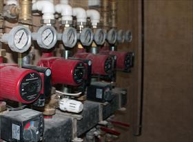 Водопровод, отопление, электричество