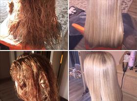 Восстановление волос BOTOX/ био-протеиновое выпрямление Coffe Green