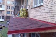Крыши на балконах