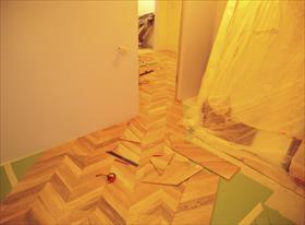 Ламинат в квартире по диагонали и ровно
