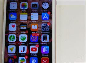IPhone 6s нет вибро и звука, полосит экран