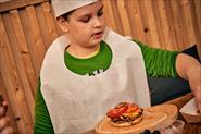 Мастер-класс для детей в True Burgers