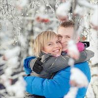 Идеи фотосессии зимой на улице