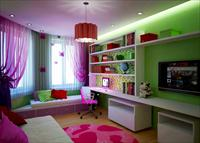 Выбор интерьера гостиной, совмещенной с детской