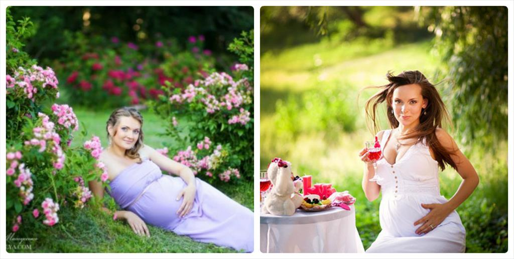 семейные фотосессии беременных