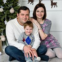 Идеи фото для семейной фотосесси в студии