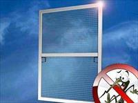 Как установить москитную сетку на пластиковое окно?