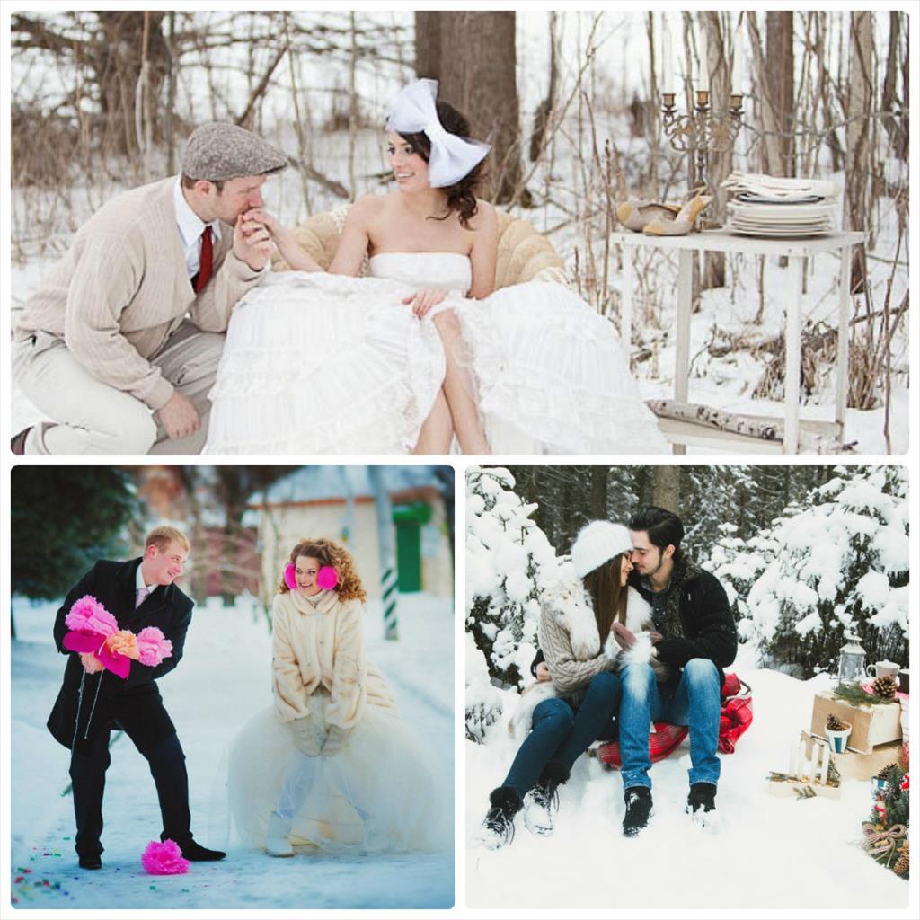love story зимой
