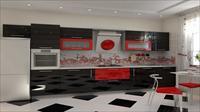 Выбор интерьера кухни в стиле хай-тек